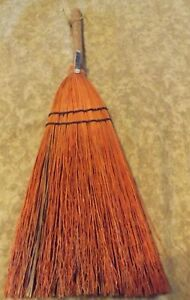 Berea College Student Made Hearth Broom Vintage 23 5 Tall Rust