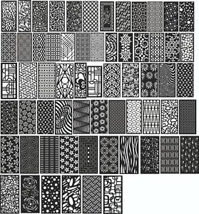 Dxf Of Laser Plasma Router Cut cnc Vector Dxf cdr Ai Art File 100 Items