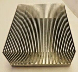 Aluminum Heat Sink 44 Fin 9 3 8 X 7 13 16 X 3 13 16 Base Is 3 4 Thick 12 5