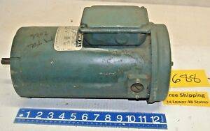 Reliance Rpmxl Small D c Motor 180v 3 70 Amp Cont Duty Fr Sf0056hc 3 4 Hp