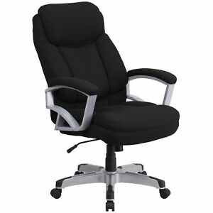 Flash Furniture Black Fabric Executive Swivel Office Chair Go 1850 1 fab gg