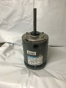Marathon 1hp 200 230 460v 3 Ph 1140 Rpm fr 56 Condenser Fan Motor