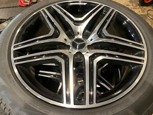 Mercedes Ml350 20 Wheels And Tires 4