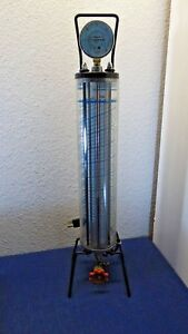 Robinair R134 43134b Dial a charge Cylinder 2 5 Lb Heated untested As Is