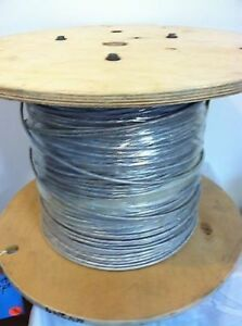High Temperature Mid Capacitance Plenum Cable 24 3 Pairs Awg 24 Wire 24 6 100ft