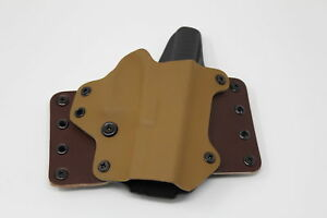 Black Point Tactical 100203 Belt Holster Owb Glock 19 23 32 Brown