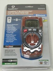 Southwire Tools Equipment 16040t Compact Auto Range Truerms Multimeter W Mapp