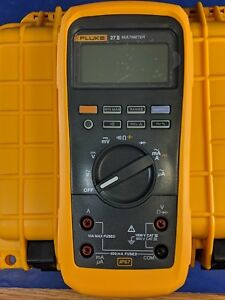 Fluke 27 Ii Rugged Water Dust Proof Msha Approved Multimeter New Calibrated