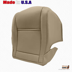 For 1990 1997 Toyota Land Cruiser Passenger Bottom Synth Leather Seat Cov