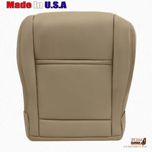 Passenger Bottom Leather Seat Cover Tan Fits 1990 To 1997 Toyota Land Cruiser