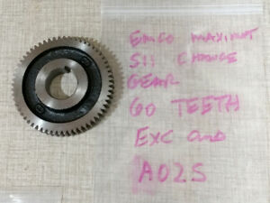 Emco Maximat Super 11 Lathe 60 Tooth Change Gear A02s
