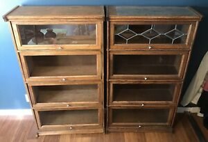 Vintage Barrister Bookcases Must See