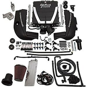 Edelbrock 15480 E Force Universal Supercharger System Chevy Saab