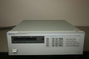 Hp Agilent 6625a Precision System Power Supply 25w Or 50w Warranty Fully Tested