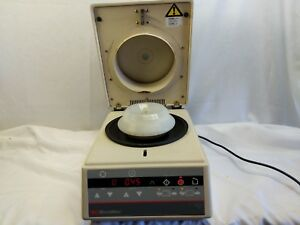 Iec Micromax Centrifuge W 24 Space Rotor Working