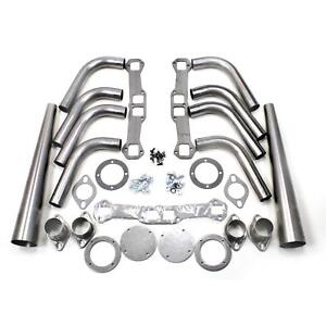Patriot Exhaust H8075 Header Lakester Weld Up Kit Chevy 348 409