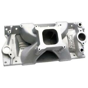Edelbrock 2999 Tall Victor Jr Small Block Chevy Manifold