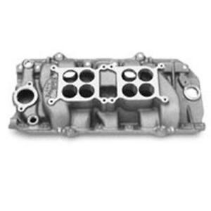 Edelbrock 5420 396 454 Chevy Dual Quad Intake Manifold Oval Port
