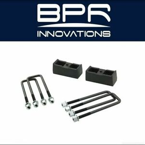 Pro Comp Suspension Fits Chevy Ford Gmc 2 Rear Lift Block W U Bolt Kit 63152