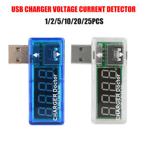 Usb Charger Doctor Current Voltage Charging Detector Battery Voltmeter Ammeter