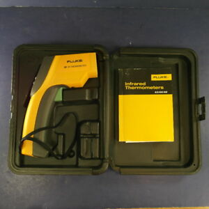 Fluke 68 Ir Infrared Thermometer Excellent Case