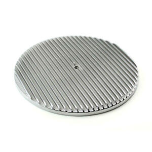 Speedmaster Air Cleaner Top Pce103 1012 Round Aluminum Polished 14 000
