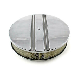 Speedmaster Air Cleaner Assembly Pce104 1016 Polished Aluminum Round 14 000