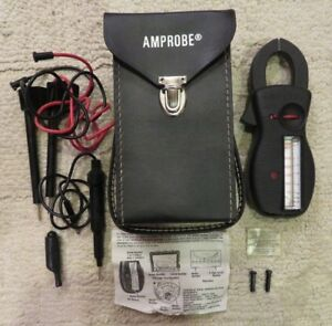 Amprobe Ultra Rs 3 Ultra Analog Clamp Meter With Case And Leads