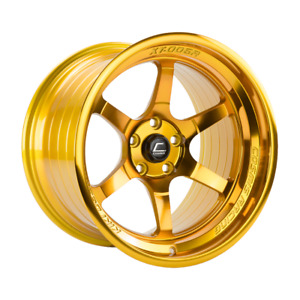 Cosmis Racing Xt006r 18x9 5 10 5x114 3 Hyper Gold set Of 4