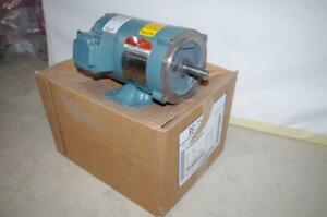 Reliance 1 2 Hp Ac Motor p56h5415 3450 Rpm Tenv 208 230 460 Vac Fr 56c New