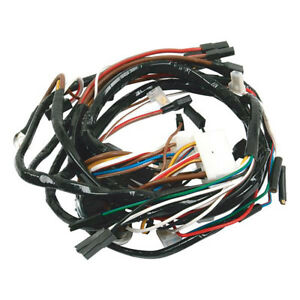 Wiring Harness For Ford Tractor 2110 3400 3500 3550 4110lcg 4400 Loader Backhoe