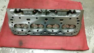 Early 327 Chevy Double Hump Cyl heads Cast 3782461new Valves springs parts