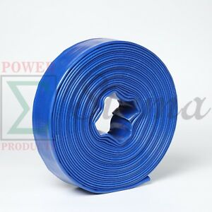 Heavy Duty 6 X 300 Ft Feet Pvc Lay Flat Agricultural Water Pump Discharge Hose