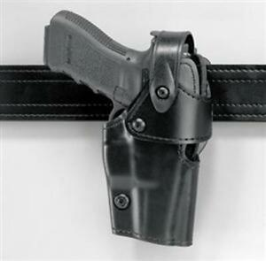 Safariland 295 83 62 295 Duty Holster Lh Plain Black Fits Glock 17 22