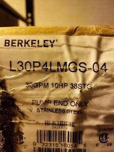 Berkeley 30 Gpm 10 Hp Submersible Ss Pump End L30p4lmgs 04