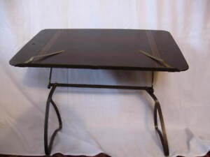 Vintage Adjustable Bed Tray Portable Desk