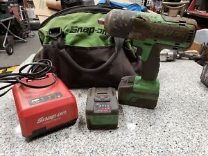 Snap on Ct7850g Impact With 2 Batteries And Charger In Bag A y