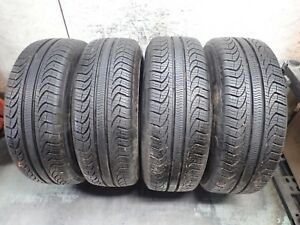 Staggered Set Of Pirelli P4 Tires 2 205 60 15 And 2 215 60 15 11 32 No Repairs