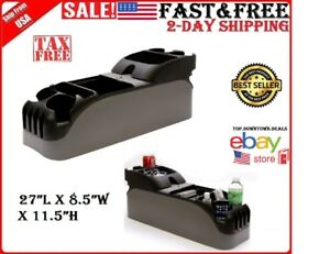 Console For 2005 2008 2010 Ford Crown Victoria Police Interceptor P71 F150 New