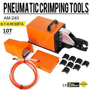 Am 240 Pneumatic Crimping Machine 10t Ce Certification Hexagonal Wire High Grade
