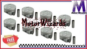 Speed Pro Hypereutectic H518cp40 Pistons 8 Pack Coated For Bbc Chevy 454