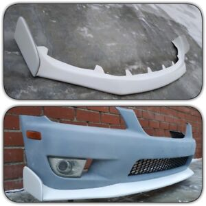 Front Lip Splitter J s Racing Style For Lexus Is300 Toyota Altezza Sxe10