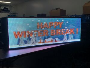 P10 Outdoor Led Display 27 5 X 78 64x192