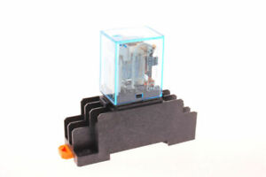 110vac Coil Power Relay My2nj Dpdt 8 Pin Hh52p l Jqx 13f With Pyf08a Socket Base