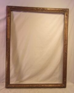 Large Antique Victorian Frame 34 1 4 X 44 Holds 30 1 4 X 40 Molding 2 1 2