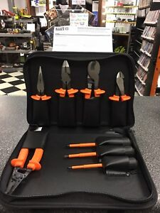 Klein Tools 33536 Basic Insulated Tool Kit 1000 volt 8 piece 1 2018 new