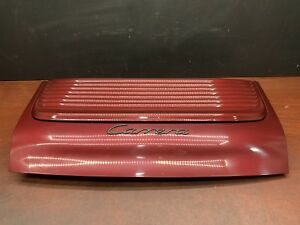 1999 Porsche 911 996 Carrera Rear Trunk Deck Lid Engine Cover Red Oem