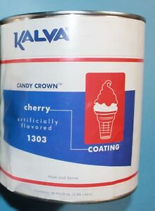 Ice Cream Cone Dip Top Cherry Candy Crown Coating Ice Cream Stand 10 Can