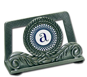 Pewter Card Holder Sublimated And Personalized