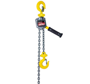 1 4 Ton Lever Manual Chain Hoist Lift Heavy Loads Safe Brake Free Gift Usa